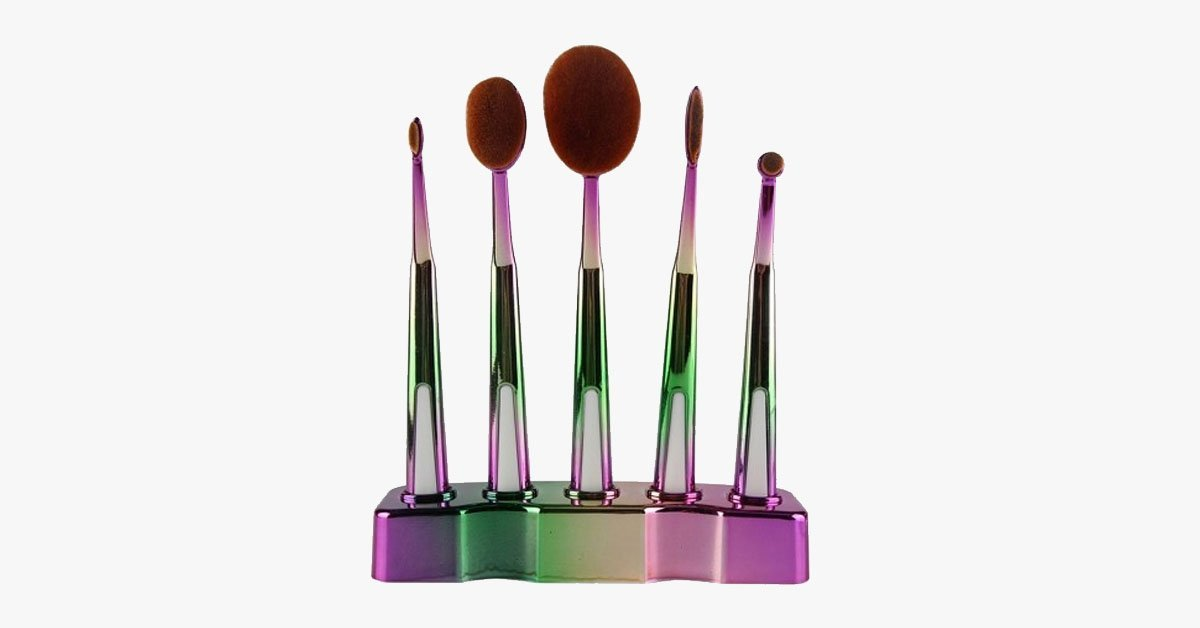 Galaxy Oval Brush Set - FREE SHIP DEALS
