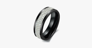 Black Titan Men's Ring - FREE SHIP DEALS