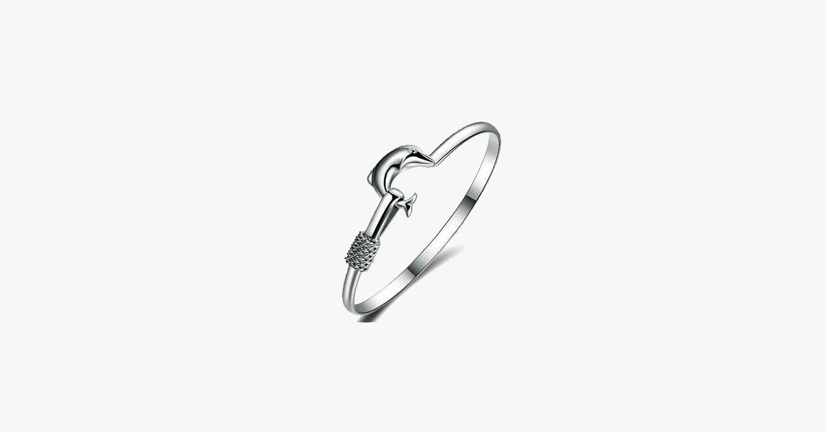 Dolphin Simple Bangle - FREE SHIP DEALS