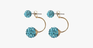 Double Sided Beads Ball Earrings - FREE SHIP DEALS