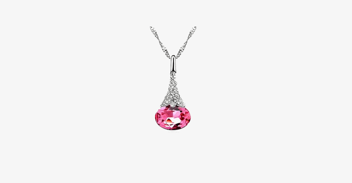 Crystal Water Drop Pendant - FREE SHIP DEALS