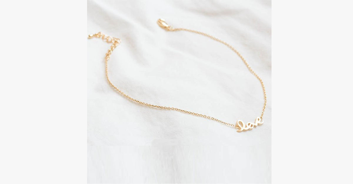 Love Anklet - FREE SHIP DEALS