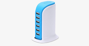 6-Port USB Charging Station - FREE SHIP DEALS
