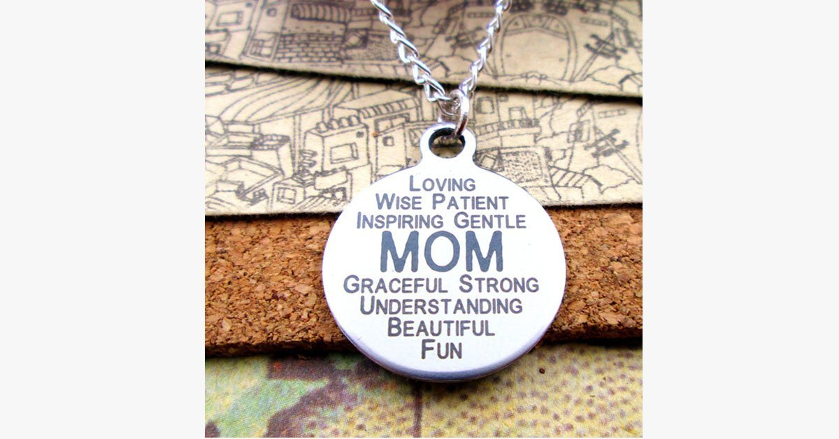 Loving Mom Pendant Necklace - FREE SHIP DEALS