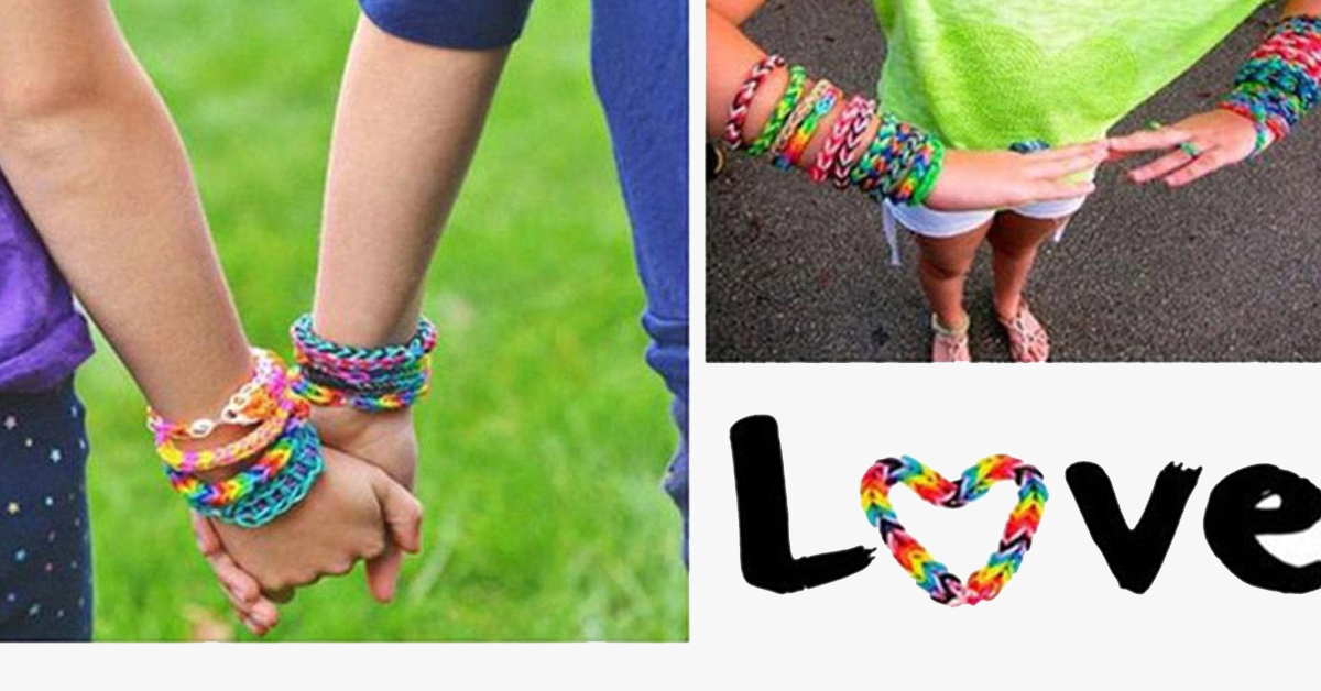 5 Pack Rainbow Loom Bands - FREE SHIP DEALS