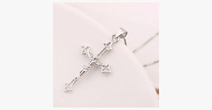 Cross Silver Pendant - FREE SHIP DEALS