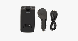 Bluetooth Hands-Free In-Car Speakerphone - FREE SHIP DEALS