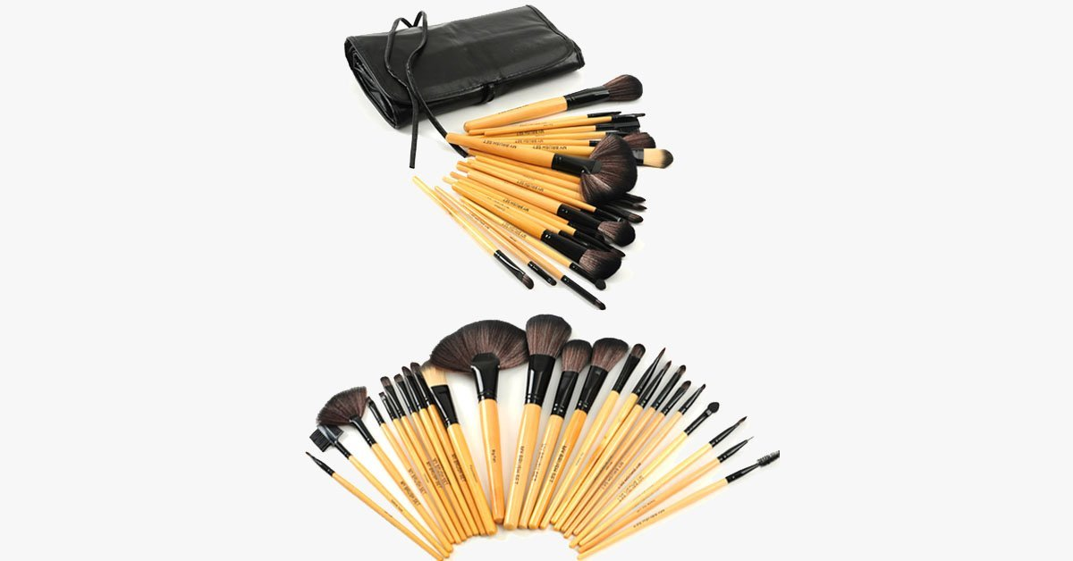 Premium Wood Brush Set - FREE SHIP DEALS