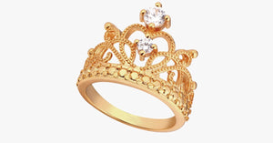 Princess Crown Ring - FREE SHIP DEALS