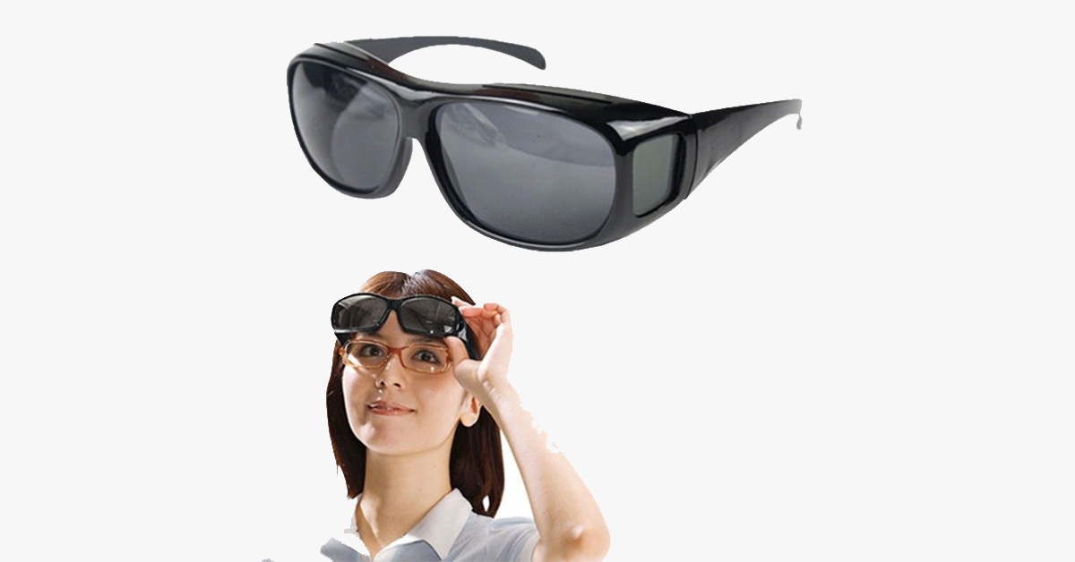 New HD Night Vision Wraparound Glasses - FREE SHIP DEALS