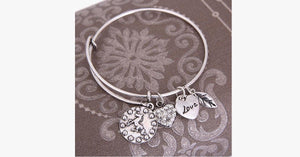Horse Love Charm Bangle - FREE SHIP DEALS