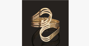 Gold Punk Hip Hop Bangle - FREE SHIP DEALS