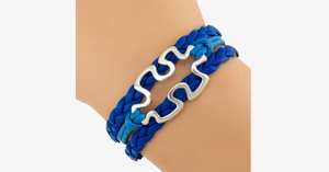 Autism Awareness Puzzle Piece Bracelet - FREE SHIP DEALS