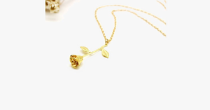 Delicate Rose Flower Pendant - FREE SHIP DEALS
