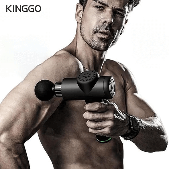 4 in 1 Muscle Relaxing Massager Gun