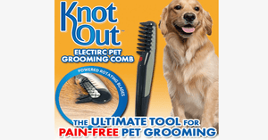 Knot Out Pet Grooming Comb - As Seen On TV - FREE SHIP DEALS