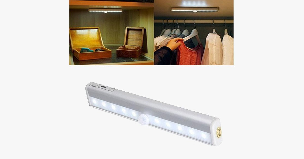 LED Wireless Motion Sensing Light Bar – Upgrade Your Home!