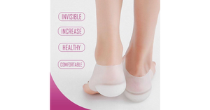 Height Increased Transparent Insoles