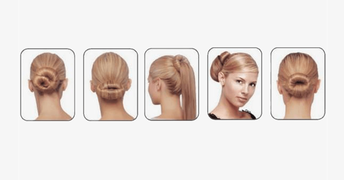 Easy Hair Bun Maker - FREE SHIP DEALS