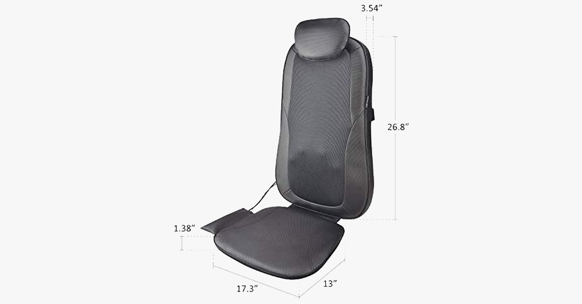 Shiatsu Massage Chair Pad