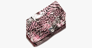 24 Piece Pink Leopard Brush Set - FREE SHIP DEALS