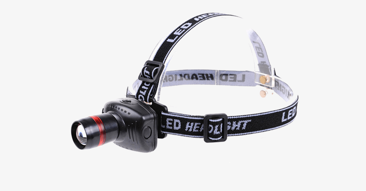 Adjustable Mini LED Headlamp with 3 Modes and Zoom - FREE SHIP DEALS