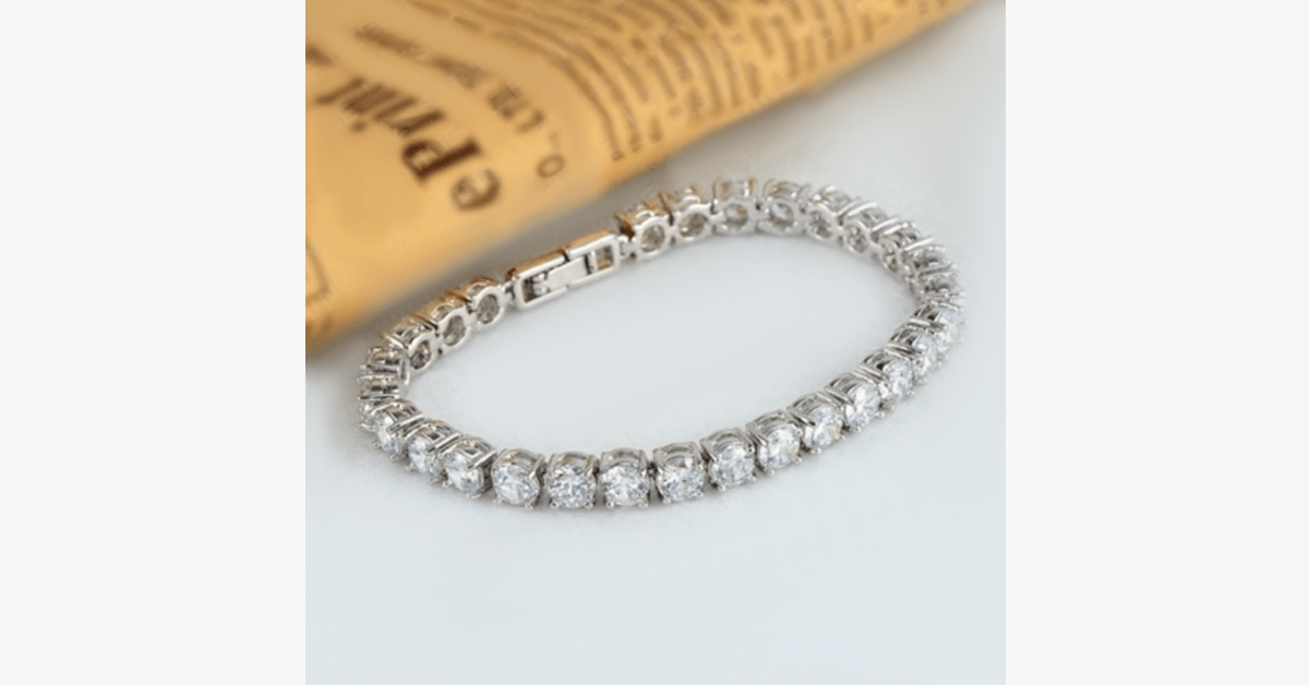 Diamond Eternity Bracelet - FREE SHIP DEALS