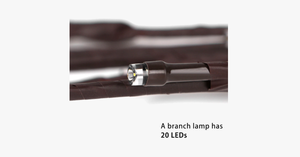 LED Willow Branch Lamp