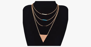4 Layer Beads Necklace - FREE SHIP DEALS