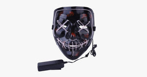 Halloween LED Mask – Get Stylish in a Funky Way!