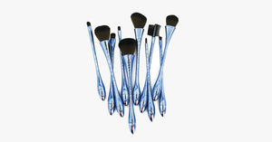 10 Piece Hour Glass Brush Set - FREE SHIP DEALS