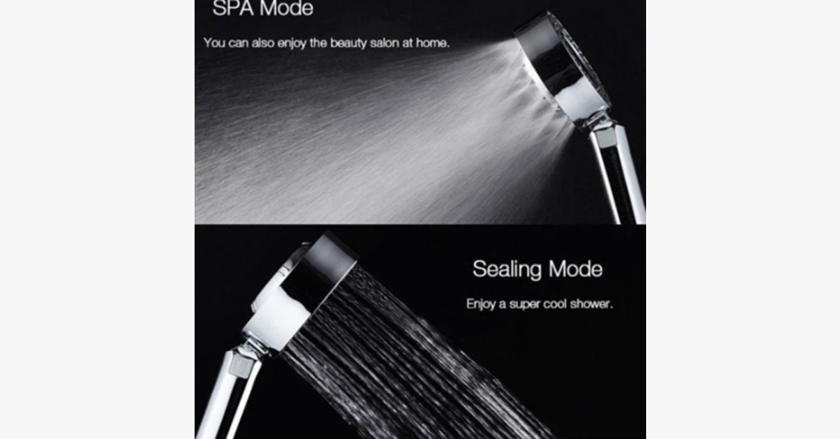 Handheld Double Sided Shower Head - For An Amazing Shower Experience