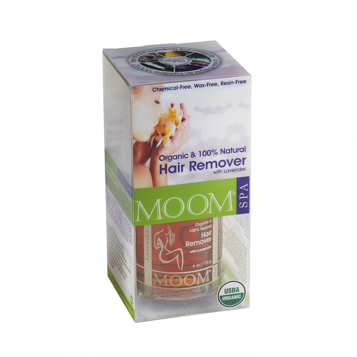 Organic Hair Removal Glaze® with Lavender