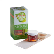 Load image into Gallery viewer, MOOM Glazing Organic Hair Remover with Cucumber Bikini and Brazilian (3oz/85g)
