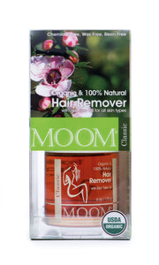Organic Hair Removal Glaze® with Tea Tree Oil
