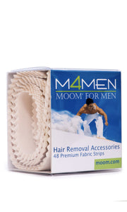 MOOM For Men Fabric Strips 48