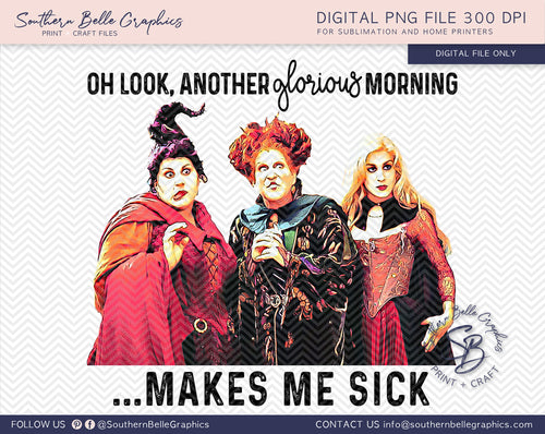 Another Glorious Morning Makes Me Sick, Hocus Pocus PNG File