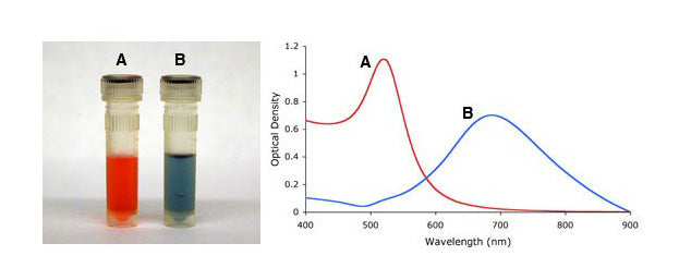 Gold Nanoparticle Absorbance - Impact of Shape