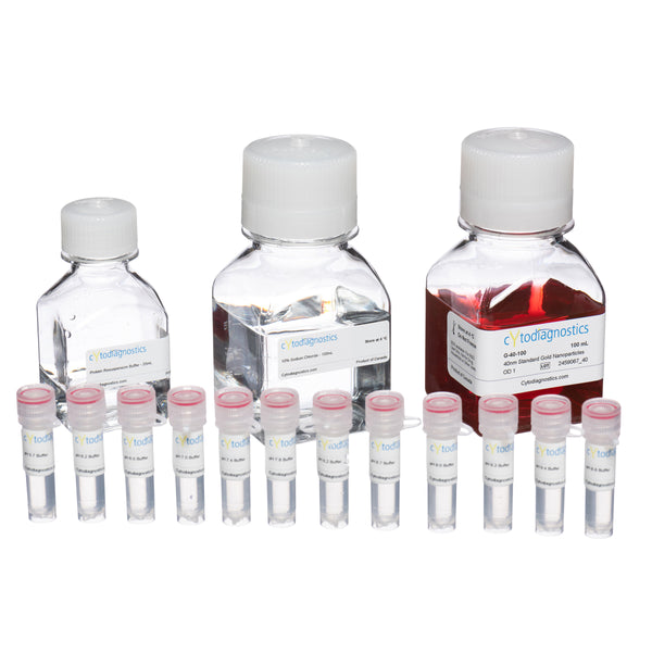 Gold Nanoparticle Conjugation Optimization Kit - 70nm