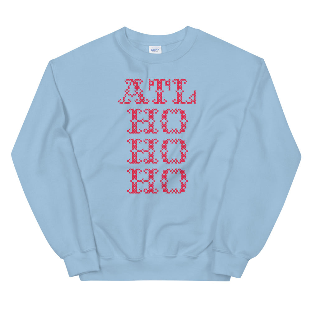 ATL Ho Ho Ho Holiday Sweater