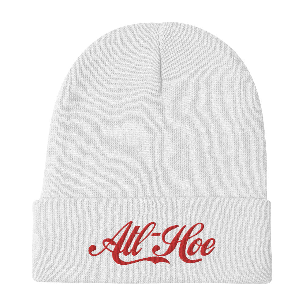 ATL Hoe Embroidered Beanie
