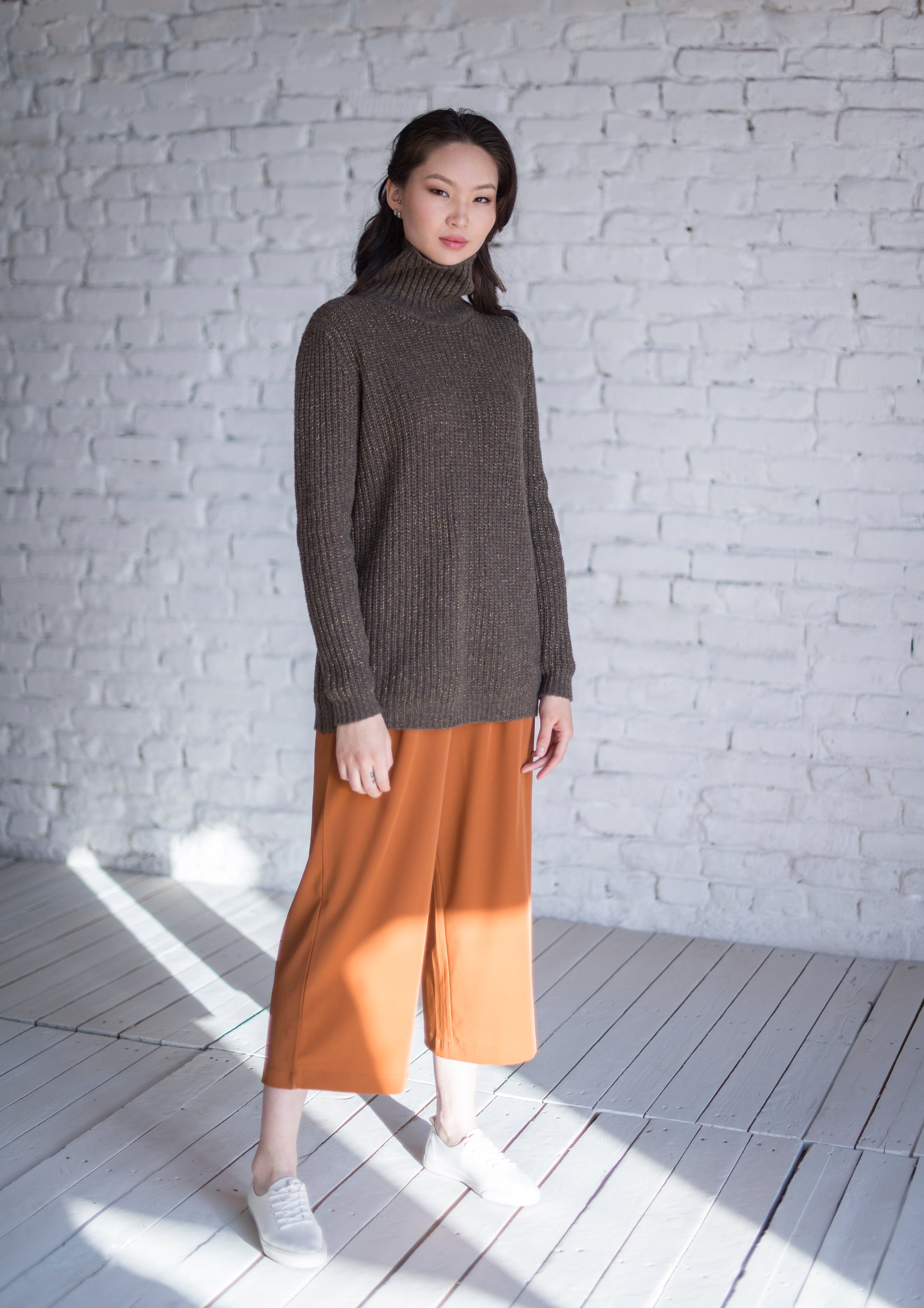 Turtleneck Yak Down Sweater - made-in-mongolia-cashmere