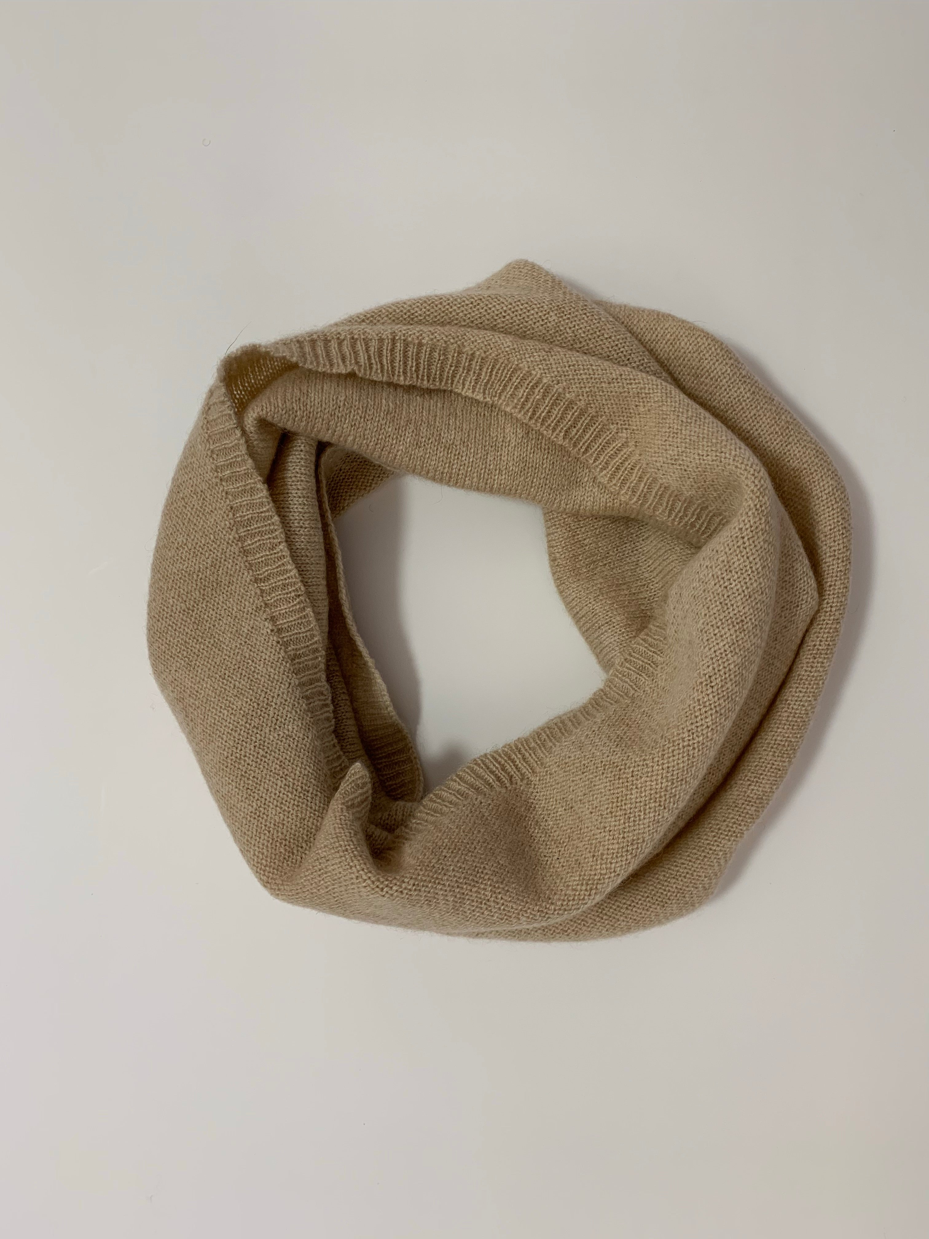 Unisex 100% Cashmere Neck Warmer - Made in Mongolia