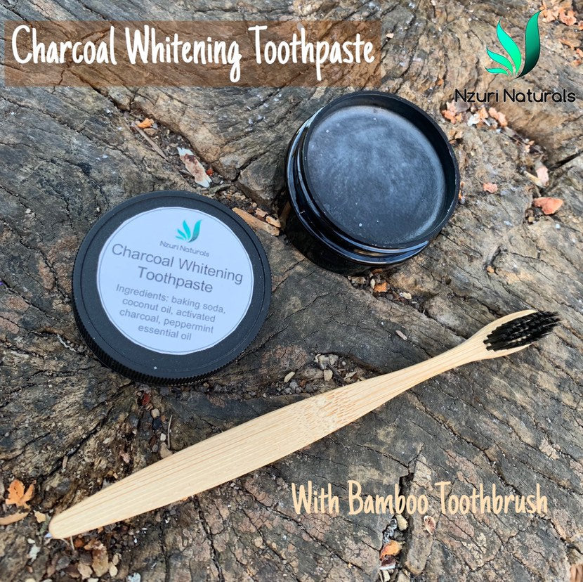 Charcoal Whitening Toothpaste | Fluoride Free Toothpaste