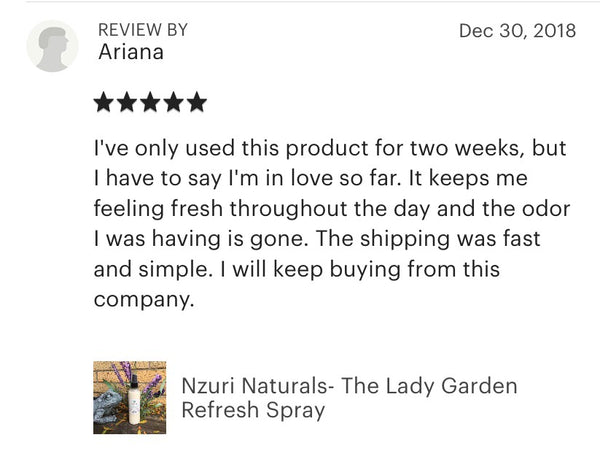 The Lady Garden Refresh Spray