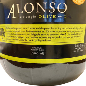 Copy of Alonso Extra Virgin Olive Oil, Koroneiki 2019 5 Liters