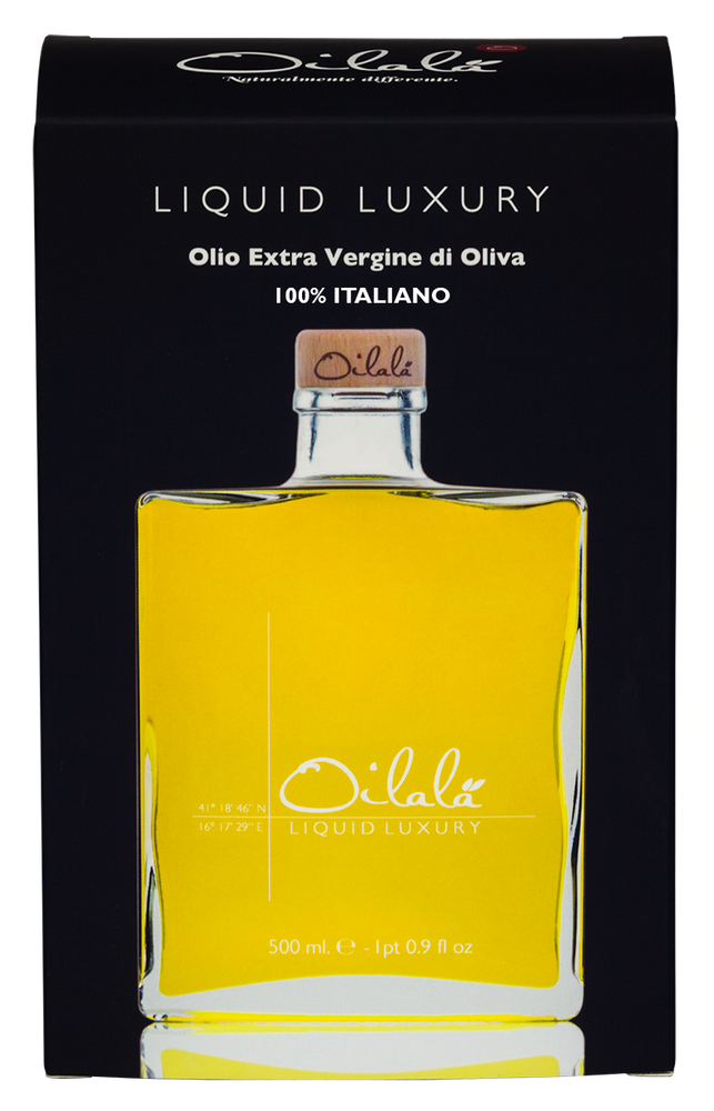 Liquid Luxury Coratina From Oilala Gift bottle
