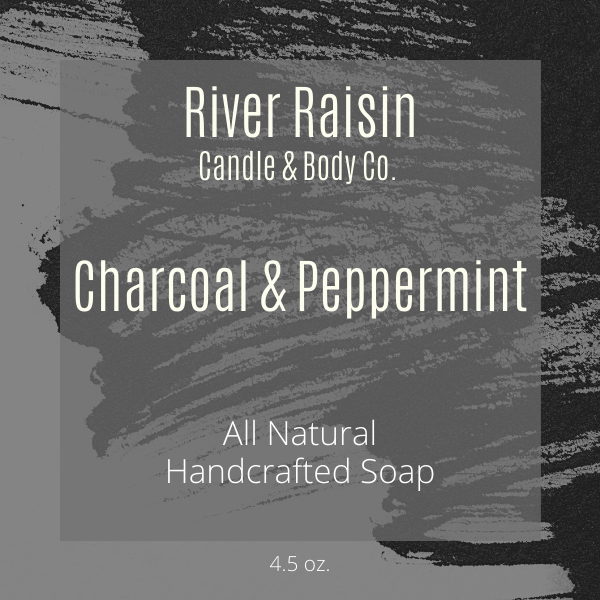 Charcoal & Peppermint - 100% All Natural | Handcrafted Soap