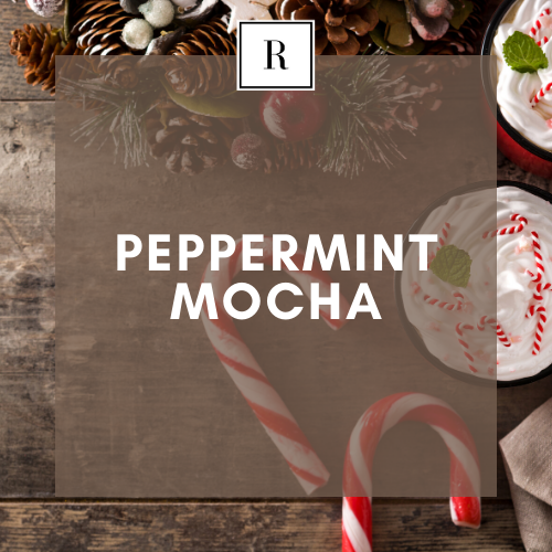 Peppermint Mocha - 100% All Natural | Soy Wax Scented Candle