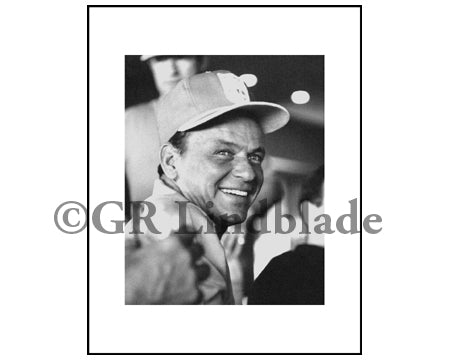 Frank Sinatra in Palm Springs George Lindblade Photo Wall Art